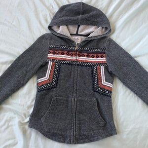 Lucky Brand Hooded Knit Sweater